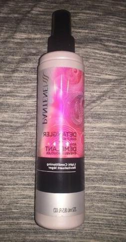 Pantene Detangler Curly Hair Light Conditioning Spray 8.5oz