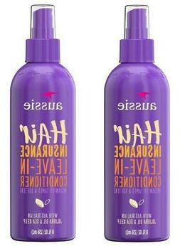 Aussie 8 oz Hair Insurance Instant Tame Smooth Soften Leav