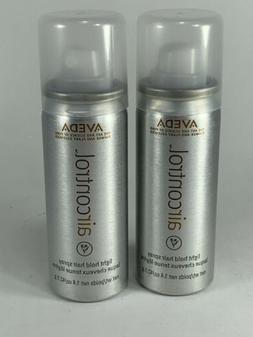 2 AVEDA Air Control Light Hold Hair Spray Travel Size 1.4 oz