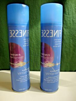 2 Pack Finesse Finish + Strengthen Extra Hold Hairspray  7oz