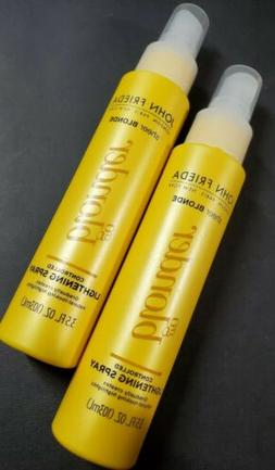2 Pack JOHN FRIEDA Sheer Blonde Go Blonder Controlled Lighte