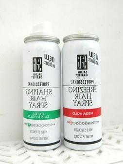 2 Pc Combo Salon Grafix FREEZING HAIRSPRAY & SHAPING HAIRSPR