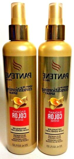 2 Pantene Pro-V Leave In Conditioning Spray Radiant Color Sh