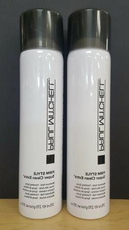 2 Paul Mitchell Super Clean Extra Hairspray 9oz x 2 NEW SIZE