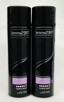 2 TRESemme TRES TWO SPRAY Freeze Hold LEVEL 5 Hairspray Humi