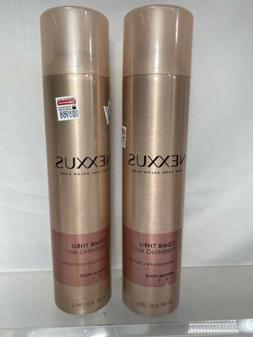 Nexxus Volume Comb Thru Finishing Mist Medium Hold Hair Spr