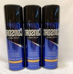 3 Consort  Men Hair Spray Extra Hold 8.3 Oz ea