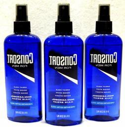 3 Consort Non-Aerosol Hair Spray For Men Unscented Extra Hol