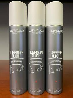 3 PACK - Goldwell Perfect Hold Big Finish 8.5 oz