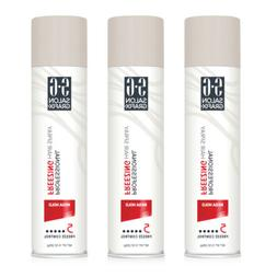 3 Pack Salon Grafix Mega Hold Professional Freezing Hair Spr