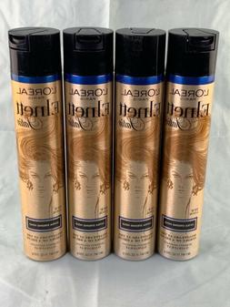 4 pack  L'OREAL PARIS ELNETT SATIN EXTRA STRONG HOLD HAIRSPR
