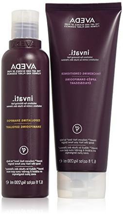 Aveda Invati Exfoliating Shampoo 6.76oz & Thickening Conditi