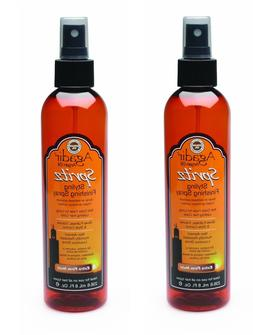 Agadir Argan Oil Spritz Styling Finishing Spray 8 oz - 2 PAC