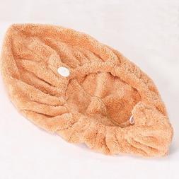 Bath Towels - Bx-577 Bathroom Coral Elastic Band Quick-Dryin