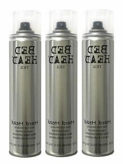 Tigi Bed Head Hard Head Hair Spray 10.6 Oz Pack of Three