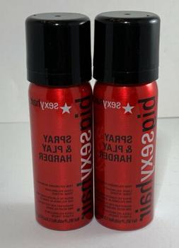 Big Sexy Hair Spray & Play Harder Firm Volumizing Hairspray