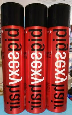 Big Sexy Hair Spray & Play Volumizing Hairspray 10 oz X 3 FR