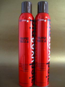 BIG SEXY HAIR SPRAY & STAY HAIRSPRAY 9 OZ PACK OF 2 see pict