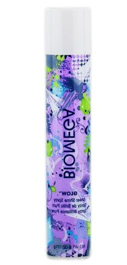 Aquage BIOMEGA Glow Sheer Shine Spray 6 oz. New! Fast Free S