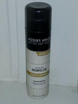 Brand New!! John Frieda Sheer Blonde Crystal Clear Hairspray
