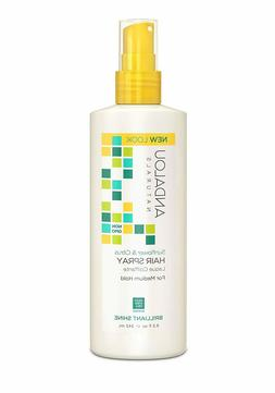 Andalou Naturals Brilliant Shine Hair Spray Sunflower and Ci