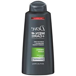 Dove Men+Care 2 in 1 Shampoo and Conditioner, Fresh and Clea