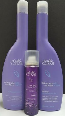 Color Protect Blue Lavender Duo & Firm Hold Hair Spray by Ba