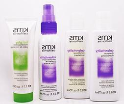 Kms Colorvitality Shampoo 2.5 fl Conditioner 2.5 fl Colorpro