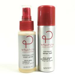 Cristophe Professional Shaping Hair Spray 1.5oz & Volumizing