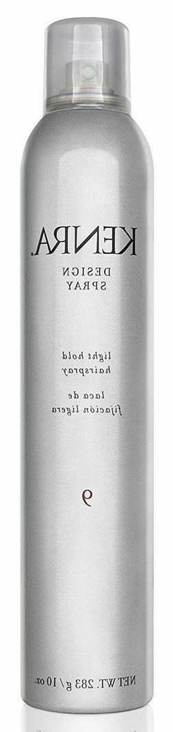 Kenra Design Spray Light Hold Hairspray #9  10oz