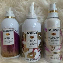 Pantene Dry Shampoo Dry Conditioner Mist Texturizing Sugar H