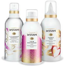 Pantene Dry Shampoo Foam + Dry Conditioner Mist + Texturizin