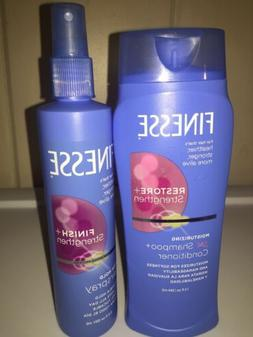 Duo Finesse 2in1 Moisturizing Shampoo/Conditioner 13 oz & Ha