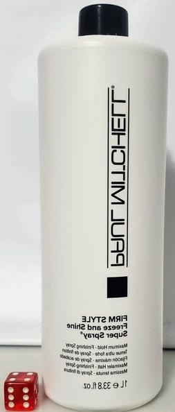 Paul Mitchell Firm Style Freeze and Shine Super Spray Choose