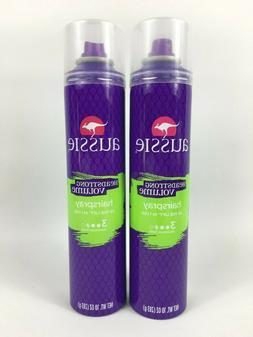 Aussie Headstong Volume Hair Spray Maximum Hold 10oz 2 Pack