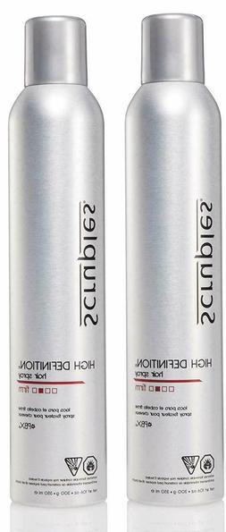 Scruples High Definition Hair Spray for Men & Women  - Pack