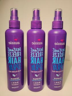 AUSSIE Instant Freeze HAIR SPRAY HOLD 3 SPRAY w Jojoba & Sea