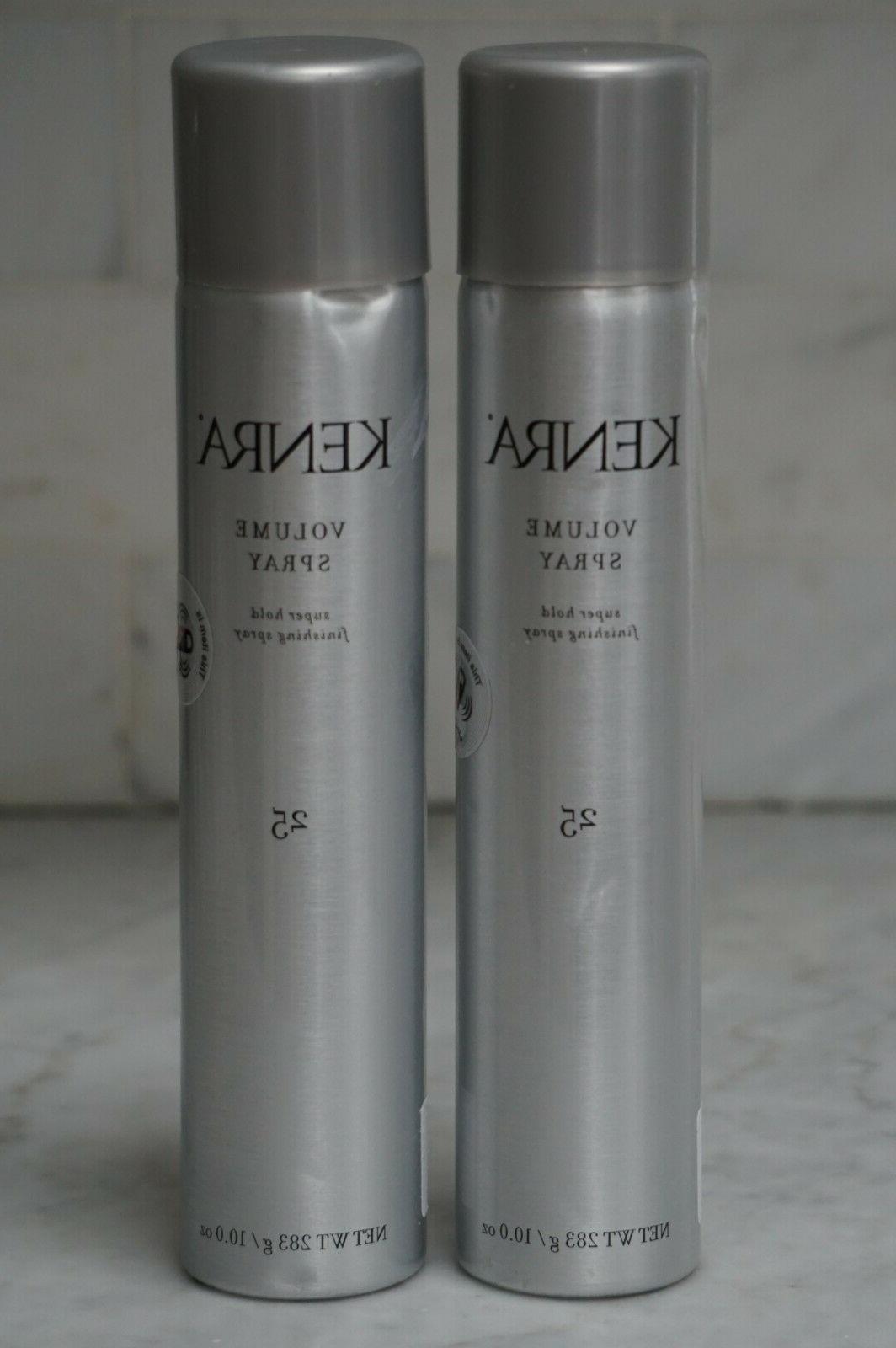 2 pack 10 oz 25 volume spray