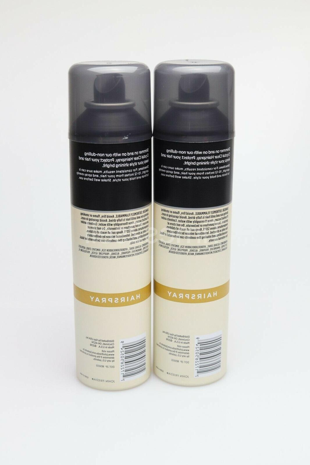 2 Sheer Blonde Crystal Hairspray