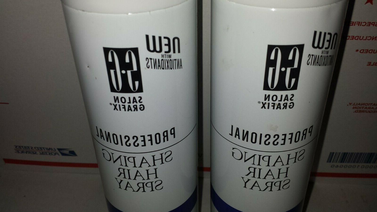 2 Grafix Shaping Hair Spray Super Hold 10oz