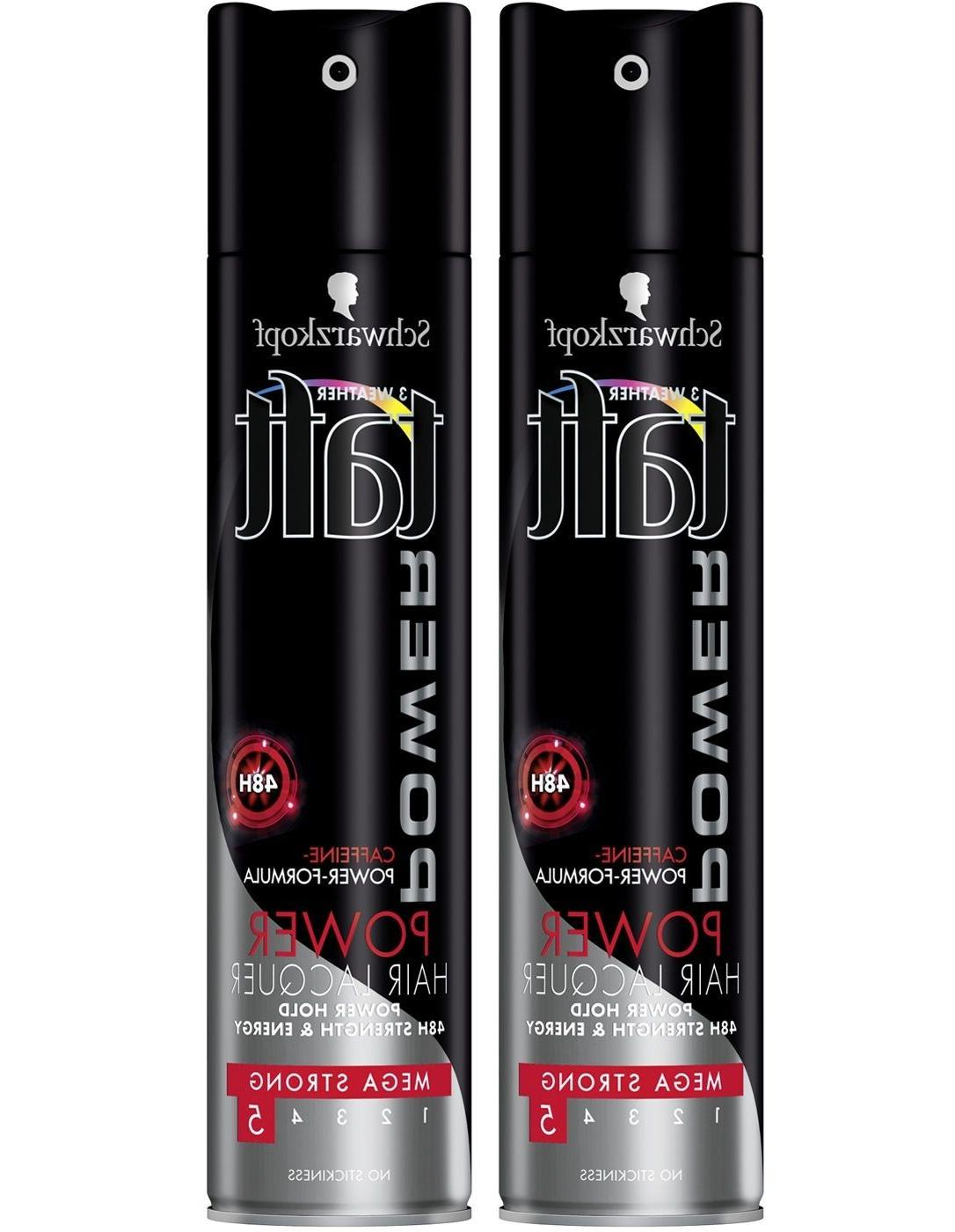 2 x professional taft power lacquer 48