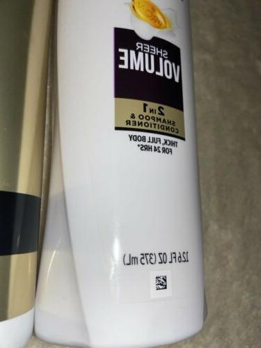 Pantene 2in1 Shampoo Conditioner Hairspray Bundle