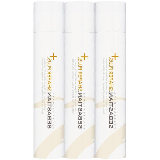 3 pack shaper plus extra hold hairspray