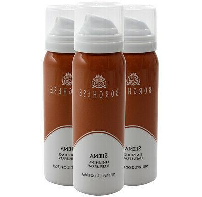 6 Pack Borghese Giovanni Finishing Hair Spray Styling Firm H
