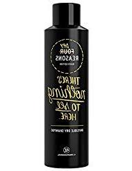 Four Reasons Black Edition Invisible Dry Shampoo – Cleanli