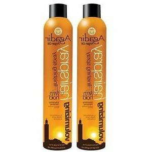 argan oil aerosol volum hairspray 10 5oz