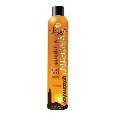 arghan oil firm hold hairspray 10 5