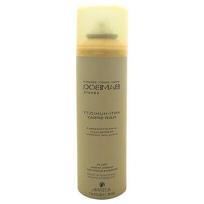 Bamboo Smooth Anti-Humidity Hair Spray by Alterna for Unisex
