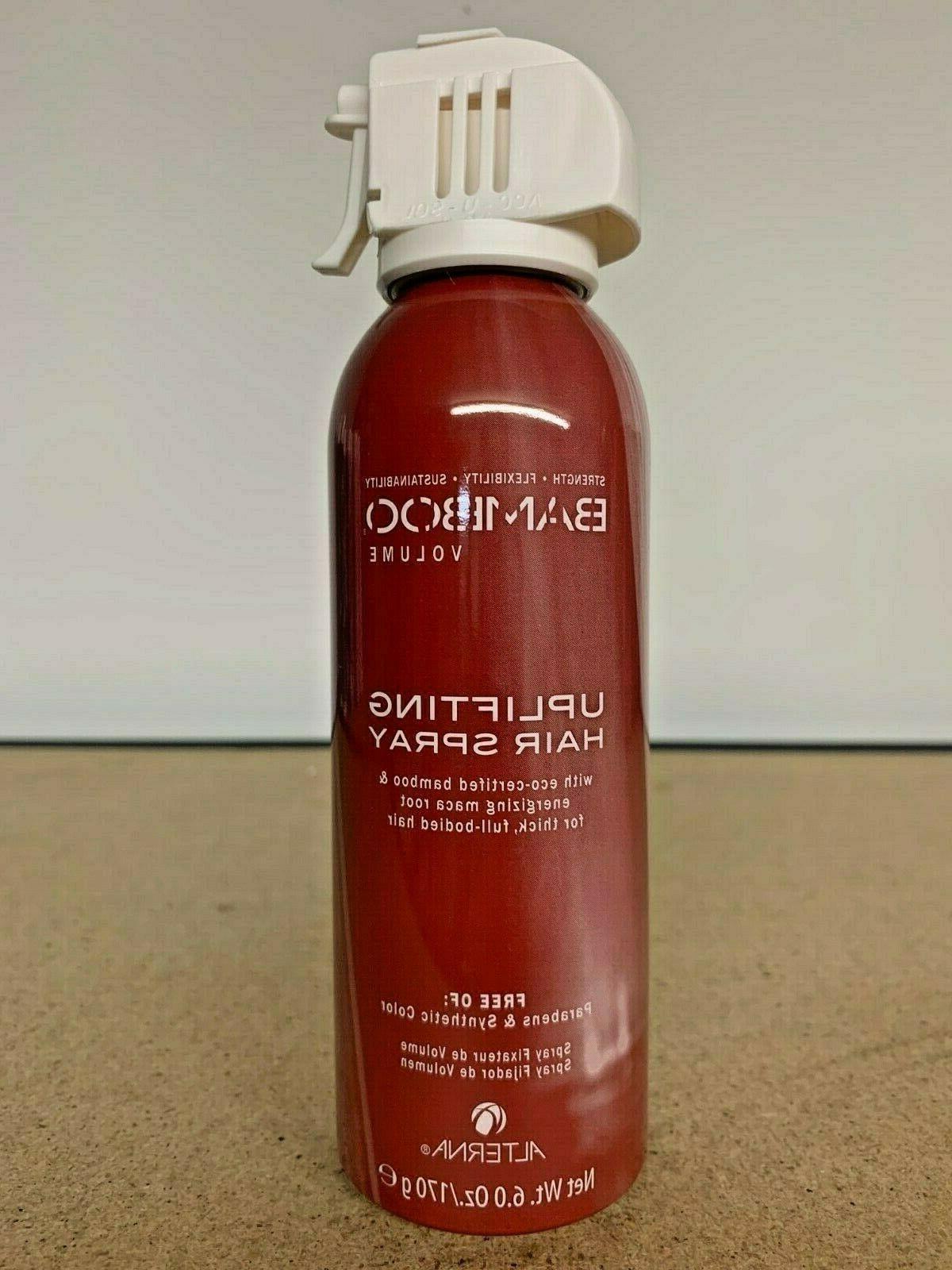 bamboo volume uplifting hair spray 6oz fast