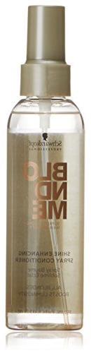 Schwarzkopf Professional Blondme, Shine Enhancing Spray Cond